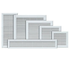 Air Vent Grille White Wall Ducting Ventilation Cover Grid High Quality Wall Louv