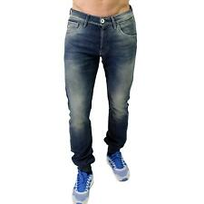 JACK JONES mens Jeans/Jogging Stan Road Costola Indigo Blu-NTH