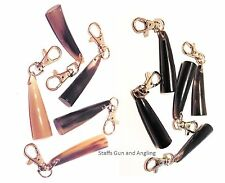 Cow Horn & Buffalo Horn Key Rings x 1