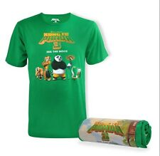 Kung Fu Panda 3 T-Shirt featuring PO &  the iconic Movie Characters Medium-Large
