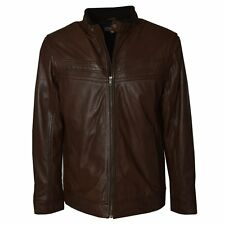 Ashwood Sonic Mens Brown Leather Jacket