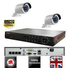 HIKVISION CCTV 4CH NVR SYSTEM KIT IP 1080P POE HD 2X DS-2CD2022WD-I 2MP 2 CAMERA