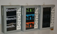 New Men's 3 PACK BENCH BOXERS & HIPSTERS Underwear FASHION TRUNK size M -L-XL