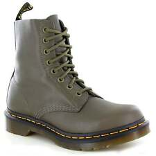 Dr Martens Pascal Womens Leather 8-Eyelet Ankle Boots Grenade Green