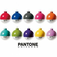 Pantone Universe Christmas Baubles. Choice of 9 colours, perfect stocking filler