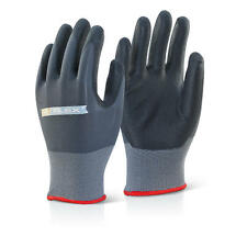 Click 2000 Flex BF1 - Nitrile PU Mix Palm Coated Gloves Breathable Soft Tactile