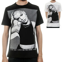 JESS J Bald Oh My God / Mens, Black, White, T-Shirt