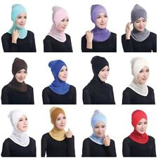 Muslim Women Bonnet Hijab Underscarf Islamic Ladies Head Cover Scarf Headwear