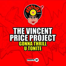 Gonna Thrill U Tonite - Vincent Price (2014, CD Maxi Single NUOVO)