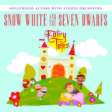 Snow White & The Seven Dwarfs - Hollywood Actors Wi (2014, CD Maxi Single NUOVO)