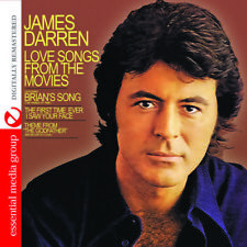 Love Songs From The Movies - James Darren (2014, CD NUOVO)