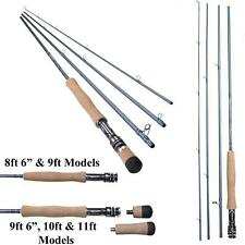 New Shakespeare Agility 2 *4 Pce Travel Fly Rod*With Cordura Tube*Trout Salmon