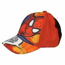 Boys Marvel Adjustable Ultimate Spiderman Baseball Cap - CM311