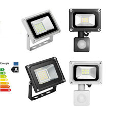 10W 20W LED Floodlights 220V Motion Sensor Outdoor Security Flood Light Lamp UK