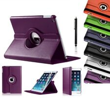 Leather Smart Case Cover Stand For Apple iPad Air 2 3 4 Mini Pro 360 Degree