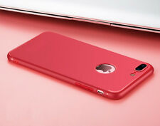 Enflamo Soft Silicone Slim Back Cover Case For Apple iPhone 6 / 6S/ 7 & 7 Plus