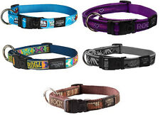 Rogz Fancy Dress Adjustable Nylon Dog Collar Lots Of Colours And Sizes