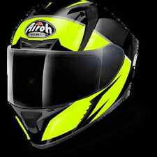 CASCO HELMET INTEGRALE AIROH 2017 VALOR ECLIPSE YELLOW GLOSS GIALLO LUCIDO MOTO