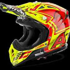 CASCO HELMET OFF ROAD AIROH 2017 OFF ROAD AVIATOR 2.2 SIX DAYS GLOSS LUCIDO MOTO