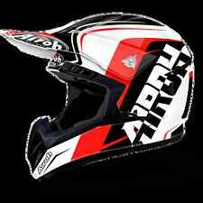 CASCO HELMET OFF ROAD AIROH 2017 SWITCH SIGN RED GLOSS ROSSO LUCIDO MOTO CROSS