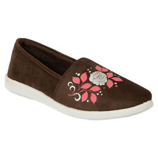 ACTION SHOES WOMEN BELLY SHOES BN-1024-BROWN