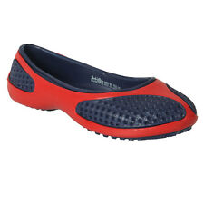 ACTION SHOES WOMEN EVA T BELLY SHOES 1301-NAVY-RED