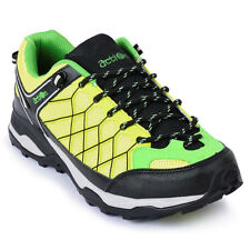 Action Shoes Men Sports Shoes (1901-Green-Yellow)