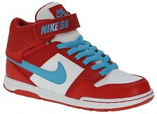 Nike Mogan Mid 2 Jr B GIRLS TRAINERS UNIVERSITY RED/ BLUE -WHITE (VARIOUS SIZES)