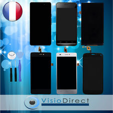 Écran complet vitre + LCD pour Wiko Cink Five Highway Signs Wax Rainbow Up