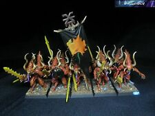 Warhammer Demoni del Caos/Daemons of Chaos Painted