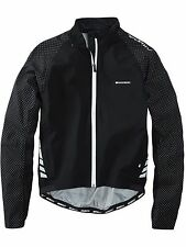 Giacca Waterproof MTB Madison Sportive Hi Viz Nero