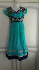 Fany Dress Bollywood Indian Asian Anarkali Churidar salwar kameez  Girl suit