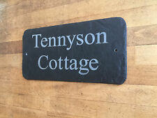 Personalised Natural Slate House Sign Made to Order Gifts by 1st 4 Signs