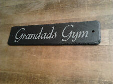 Natural Slate House Sign Made to Order Personalised Gifts by 1st 4 Signs