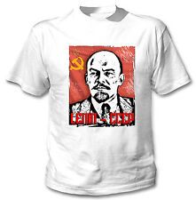 LENIN RUSSIA LEADER - NEW AMAZING COTTON TSHIRT ALL SIZES AVAILABLE