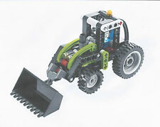 LEGO SET 8260 - TECHNIC TRACTOR COMPLETE (ALSO MAKES MOTOR BIKE)