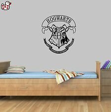 Hogwarts Harry Potter Style Quote Wand Vinyl Wall Art Sticker Quote Mural