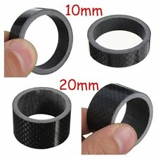 "1PCS Carbon Fiber Bike MTB Headset 1/8"" 5-10-15-20mm Stem Washer Spacer Kit"