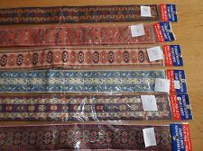 1/12th Turkish woven stair  carpet 49 cm long for dolls house
