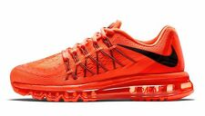 Branded Export Surplus Sports  Nike Airmax 2015 Orange breathe shoes For Men