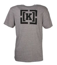 Krew Bracket T-Shirt Grey Skateboard shirt Gr.S-XL