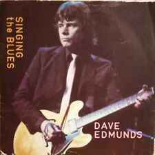 """Dave Edmunds-Singing The Blues 7"""" 45-Swan Song, SSK 19422, 1980, Picture Sleeve"""