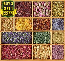 Natural Dried Flowers, Petals - Bath Bomb ,Soap, Candle, Crafts, Flower Confetti