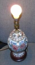 Selection of vintage lamps - all available to buy separately onyx brass marble