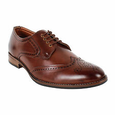 YELLOW TREE HIGH QUALITY FORMAL BROWN HEEL SHOES FOR MEN'S (8502)