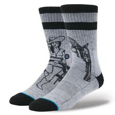 Stance Sock Calze Bushleague Blue Grey M3110BUS-GRY