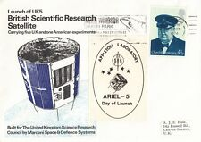 1974 Launch of UK5 Satellite cover.