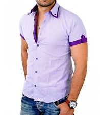 Chemisette fashion homme Chemisette 6023 violet