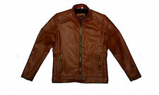Grand Store Stylish Slim Fit Formal Faux Leather Jacket For Men