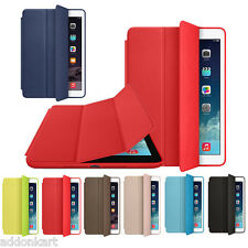 Leather tri fold Magnetic stand Smart case flip cover for Apple iPad Air 2